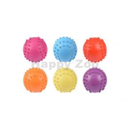 Hračka FLAMINGO guma - basebalový míč 6cm (MIX BAREV)