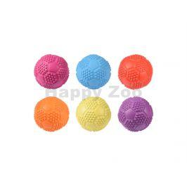 Hračka FLAMINGO guma - fotbalový míč 7cm (MIX BAREV)