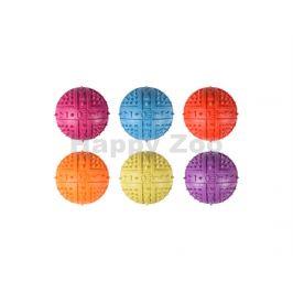 Hračka FLAMINGO guma - míč s bodlinami 9cm (MIX BAREV)