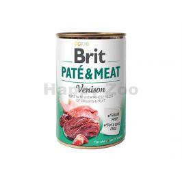 Konzerva BRIT Paté & Meat Venison 800g