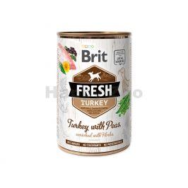 Konzerva BRIT Fresh Turkey with Peas 400g