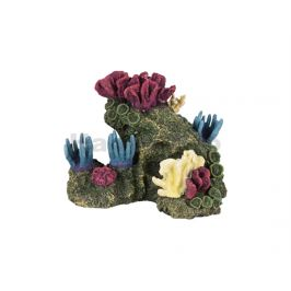 Akvarijní dekorace FLAMINGO - Floralia korál 20x15x15cm