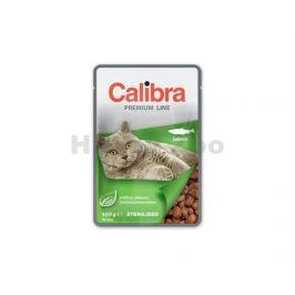 Kapsička CALIBRA Cat Premium Sterilised Salmon 100g