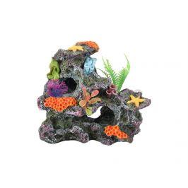 Akvarijní dekorace FLAMINGO - Koralia korálová skála 17x10x15cm