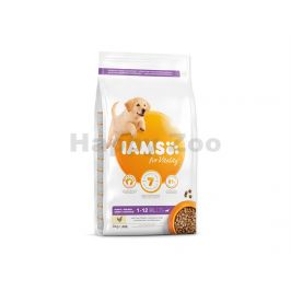 IAMS for Vitality Dog Puppy Large Chicken 3kg