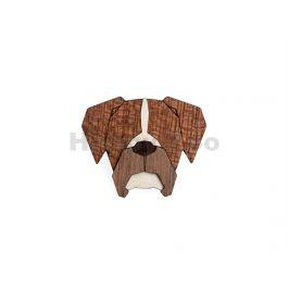 BEWOODEN Boxer Brooch