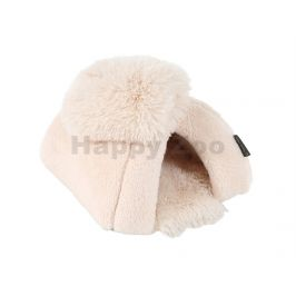 Domeček pro hlodavce O´LALA PETS Soft 25x25cm béžový