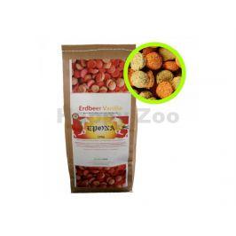 EPONA Erdbeer-Vanille Snack - pamlsky 1kg
