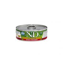 Konzerva N&D Cat Prime Adult Chicken & Pomegranate 80g