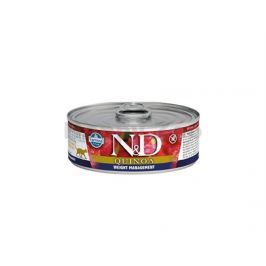 Konzerva N&D Cat Quinoa Weight Management Lamb & Brocolli 80g