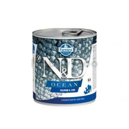 Konzerva N&D Dog Ocean Adult Salmon & Codfish 285g
