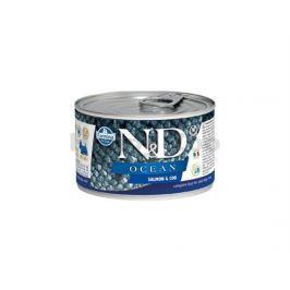 Konzerva N&D Dog Ocean Adult Salmon & Codfish Mini 140g