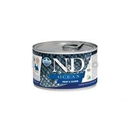 Konzerva N&D Dog Ocean Adult Trout & Salmon Mini 140g