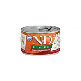 Konzerva N&D Dog Pumpkin Adult Chicken & Pomegranate Mini 140g