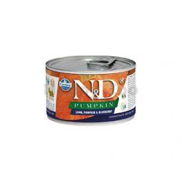 Konzerva N&D Dog Pumpkin Adult Lamb & Blueberry Mini 140g