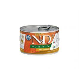 Konzerva N&D Dog Pumpkin Adult Quail & Pumpkin Mini 140g