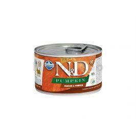 Konzerva N&D Dog Pumpkin Adult Venison & Pumpkin Mini 140g