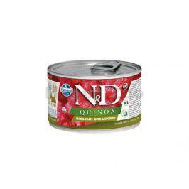 Konzerva N&D Dog Quinoa Duck & Coconut Mini 140g