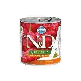 Konzerva N&D Dog Quinoa Herring & Coconut 285g