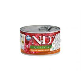 Konzerva N&D Dog Quinoa Herring & Coconut Mini 140g