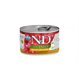 Konzerva N&D Dog Quinoa Quail & Coconut Mini 140g