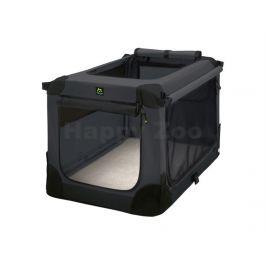 MAELSON Soft Kennel nylonová přepravka černo-antracitová (XS) 52