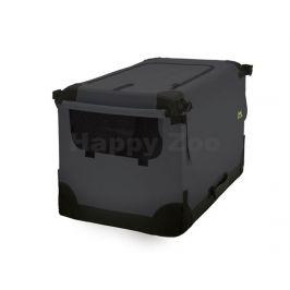 MAELSON Soft Kennel nylonová přepravka černo-antracitová (M) 72x