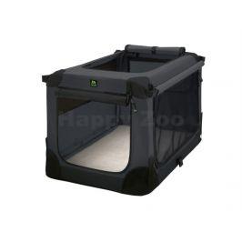 MAELSON Soft Kennel nylonová přepravka černo-antracitová (XXXL)