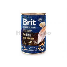 Konzerva BRIT Premium by Nature Fish & Fish Skin 800g