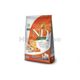 N&D Low Grain Ocean Dog Adult Medium/Maxi Codfish & Orange 12kg