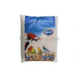 Písek pro ptáky DUVO+ hygienický bílý s mušlemi 5kg