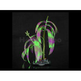Akvarijní rostlina AQUA LUMO rostlina s proužky a mořskými živoč