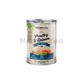 Konzerva CHICOPEE Adult čisté drůběží a rybí filet 400g