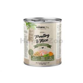 Konzerva CHICOPEE Adult čisté drůběží s rýží 800g