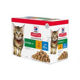 Kapsička HILLS Feline Kitten Chicken+Ocean Fish 12x85g (multipac