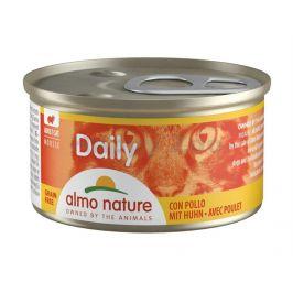 Konzerva ALMO NATURE Daily Menu kuřecí 85g