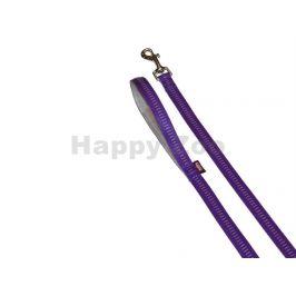 Vodítko NOBBY Soft Grip nylonové fialové 2,5x120cm