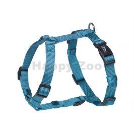 Postroj NOBBY Classic nylonový světle modrý (S-M) 1,5x30-55cm