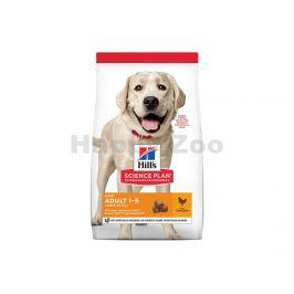HILLS Canine Adult Light Large Breed Chicken 14kg