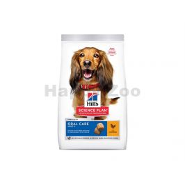 HILLS Canine Adult Oral Care Medium Chicken 12kg