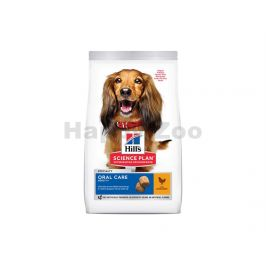 HILLS Canine Adult Oral Care Medium Chicken 2kg