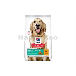 HILLS Canine Adult Perfect Weight Large Breed Chicken 12kg
