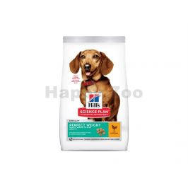 HILLS Canine Adult Perfect Weight Small & Mini Chicken 1,5kg