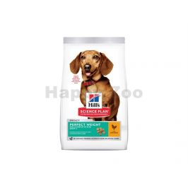 HILLS Canine Adult Perfect Weight Small & Mini Chicken 6kg