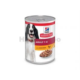 Konzerva HILLS Canine Adult Chicken 370g (DOPRODEJ)