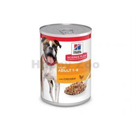 Konzerva HILLS Canine Adult Light Chicken 370g