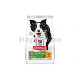 HILLS Canine Mature 7+ Youthful Vitality Medium Chicken 2,5kg