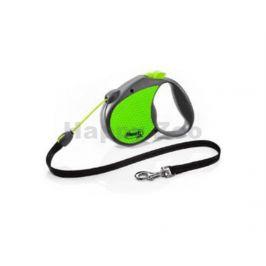 FLEXI Neon Reflect Cord (M) - zelené (do 20kg, 5m lanko)