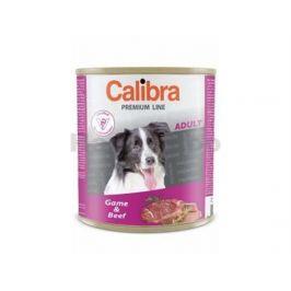 Konzerva CALIBRA Dog Premium Game and Beef 800g