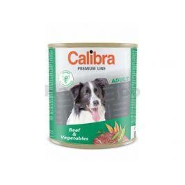 Konzerva CALIBRA Dog Premium Beef and Vegetable 800g